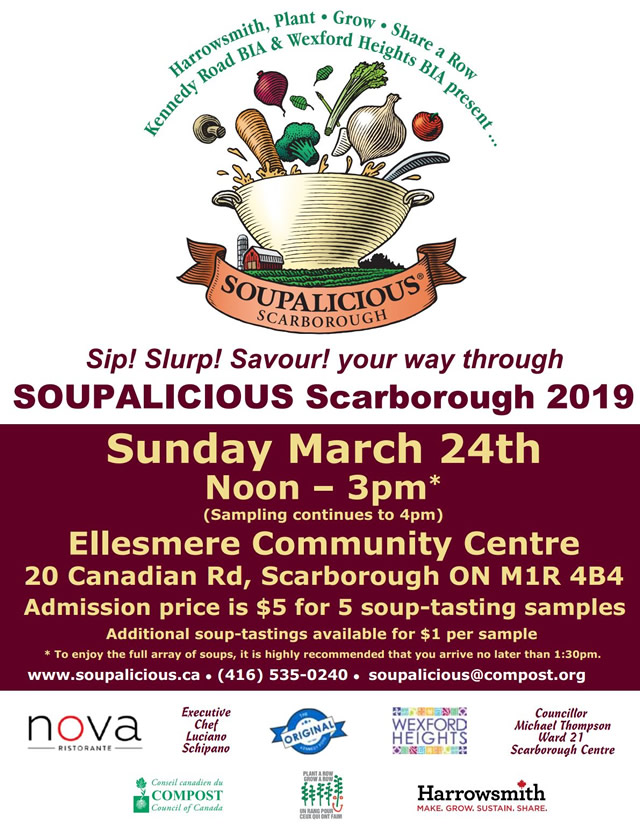 Soupalicious Scarborough 2019