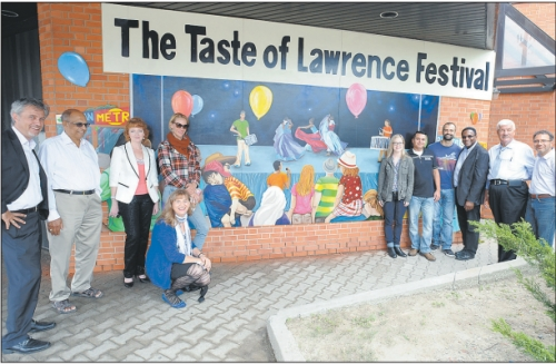 Mural Celebrates Taste of Lawrence