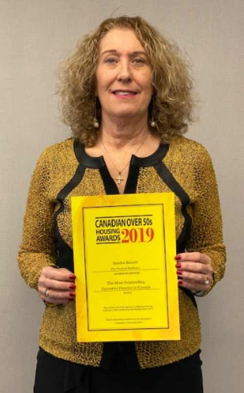 Outstanding Executive Director in Canada Award for 2019