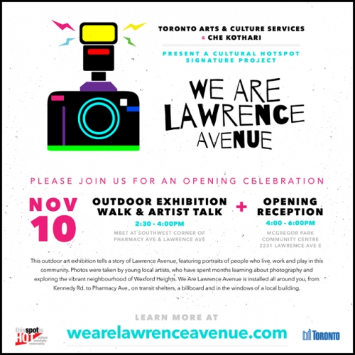 We Are Lawrence Avenue - Opening Celebration