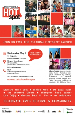 Join us For the Cultural Hotspot Launch